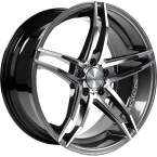 Tomason TN12 Dark hyper black polished(GTALU826-354)