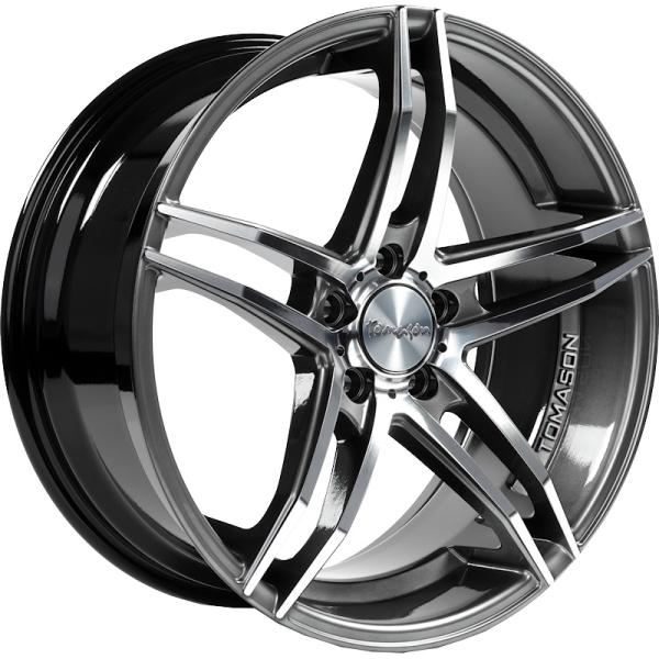 Tomason TN12 Dark hyper black polished